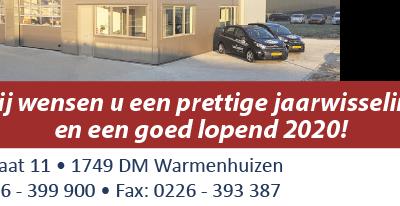 Autoservice Van Went vrijdag 27 december gesloten; Wij wensen u fijne feestdagen!