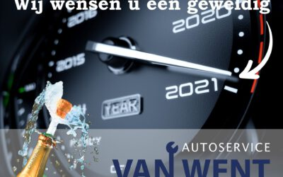 Autoservice van Went wenst u een prachtig 2021 toe!