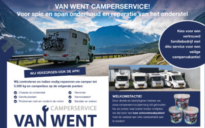 De camperservice van Autoservice van Went: nu met pakkende actie!