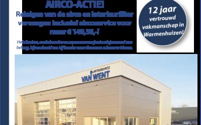 Airco-actie bij Autoservice van Went